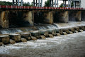 Hydroelectric pumped storage power plant Royalty Free Stock Photo