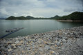 Hydropower in the rainy season Stock Photos