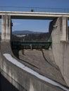 Hydropower station on czorsztynski lake czorsztyn poland Stock Photography
