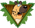 Hyena Safari Icon Stock Photos