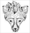 Hyena Vector Illustration