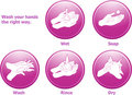 Hygiene icons Stock Photo