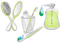 Hygiene items Stock Photography