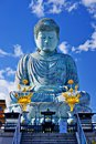 Hyogo buddha big of in kobe japan Stock Photography