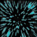 Hyperspace Zoom Blur Stock Photos