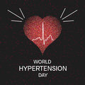 Hypertension awareness poster