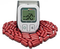 Hypertension healthy high blood pressure Royalty Free Stock Photos