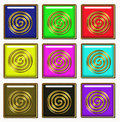 Hypnotic art Royalty Free Stock Image