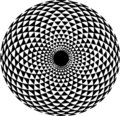 Hypnotic Pattern Royalty Free Stock Photo