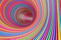Hypnotic Psychedelic Multicolo...