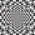 Hypnotic  ray background Stock Image