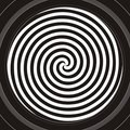 Hypnotic spiral Royalty Free Stock Image