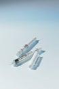 Hypodermic insulin syringe Royalty Free Stock Image