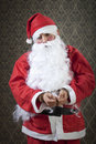 I confess santa clause is getting arrested Stock Photos