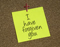 I Have Forgiven You