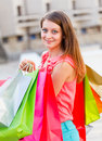 I Like Going Shopping Very Much Royalty Free Stock Photo