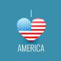 I love america Royalty Free Stock Photo