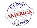 I love America Royalty Free Stock Photo