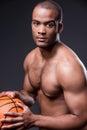 I love basketball. Royalty Free Stock Photo