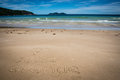 I Love Ilha Grande, Lopes Mendes, Beach. Incredible paradise. Br Royalty Free Stock Photo