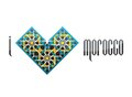 I love morocco vector iluustration heart shaped symbol with the moroccan ornament eps cmyk color mode Stock Photography