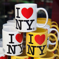 I Love New York - Coffee Mugs Stock Images