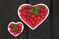 I love Raspeberries Royalty Free Stock Photo