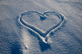 I love snow! Royalty Free Stock Images