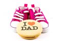 I love you dad Royalty Free Stock Photo