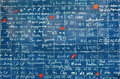 I love you wall on Montmartre in Paris Stock Photography