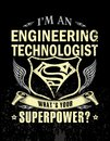 I`m an engineering technologist