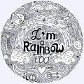I am rainbow too.