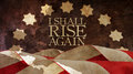 I shall rise again. From Latin Resurgam. Royalty Free Stock Photo