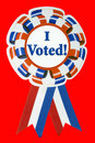 I voted ribbon Stock Photography