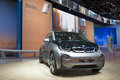 Iaa frankfurt sept bmw i plug in electric car shown at the th internationale automobil ausstellung on september in Stock Image