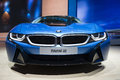 Iaa frankfurt sept bmw i plug in hybrid sportscar shown at the th internationale automobil ausstellung on september in Royalty Free Stock Photography