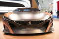 Iaa frankfurt sept peugeot onyx plug in hybrid concept car shown at the th internationale automobil ausstellung on september in Stock Photo