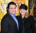 Ian McShane and wife Gwen Humble Stock Photos