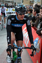 Ian Stannard before the start Royalty Free Stock Image