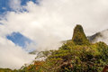 Iao Needle, at Iao Valley, Maui, Hawaii, USA Royalty Free Stock Photo