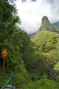 Iao Needle State Park Royalty Free Stock Photo