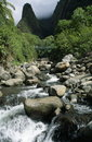 Iao Stream And Needle Royalty Free Stock Photo