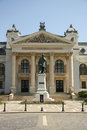 Iasi national theatre romania the xix century Royalty Free Stock Photography