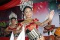 An iban dance Royalty Free Stock Photos