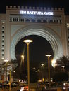 Ibn Battuta Gate à Dubaï, EAU Photographie stock