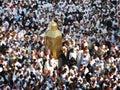 Ibrahim pilgrimage authorities mecca saudi arabia august muslim pilgrims from all around the world are circumambulating the kaaba Royalty Free Stock Images