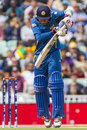 Icc champions trophy sri lanka and australia london england june s mahela jayawardene gets hit on the hand during the Stock Images