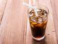Ice americano drink Royalty Free Stock Photo