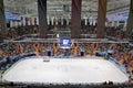 Ice arena Stock Photo