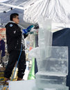 Ice art Stock Photos